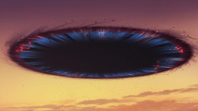 クナド高速輸送道路にて、カサネの時間跳躍脳力・レッドストリングスが発動した。その際、同じ超脳力を持つユイトの力が共鳴し、クナドゲートが誕生した。ブラックホールのようにすべてをのみ込もうとする性質があり、ユイトが超脳力を使うたびに成長が見られる。